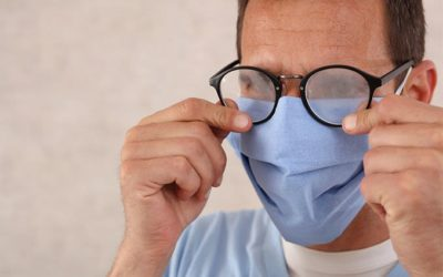 Wearing a face mask? Here are 7 ways to avoid foggy glasses